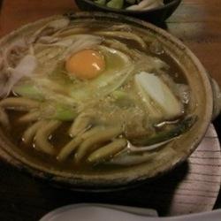 名古屋コーチン味噌煮込み