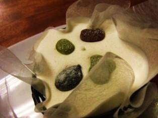 絹ごし緑茶ティラミス