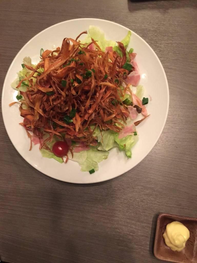 牛蒡サラダ