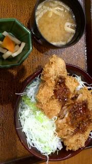 鶏かつソース丼