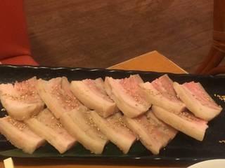 厚切り蒸し豚のデジボッサム