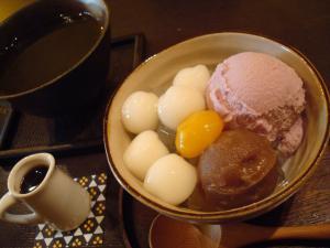 おいも鎌倉パフェ 紫芋