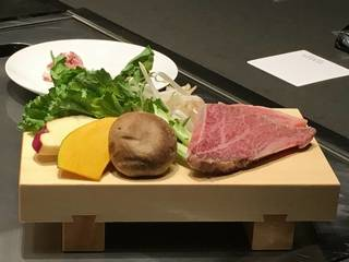 山形牛シャトーブリアンと季節の野菜