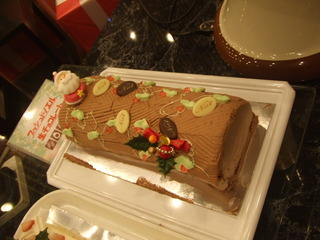 ブッシュドノエル 生チョコレート