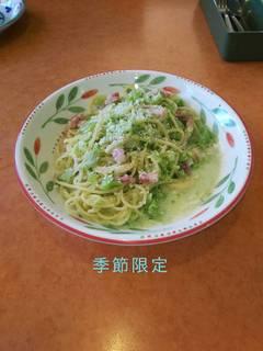 たっぷりブロッコリーのクリームスパゲッティー(プーリア風)
