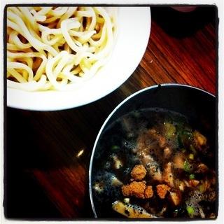 黒ゴマつけ麺