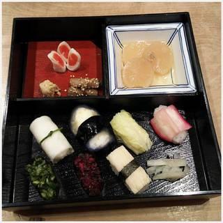 京漬物寿司点心