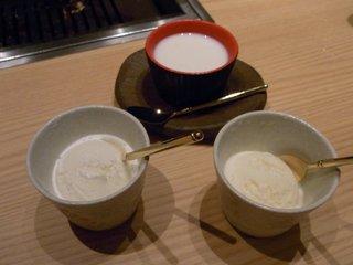 ココナッツミルクアイス