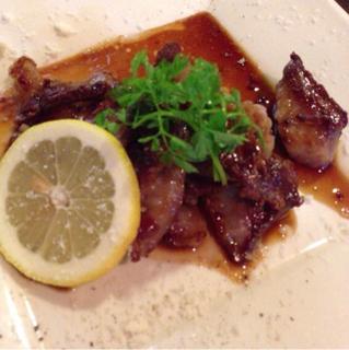 イベリコ豚の網焼き