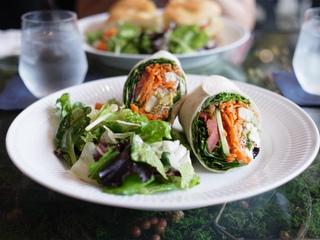 野菜のラップサンド