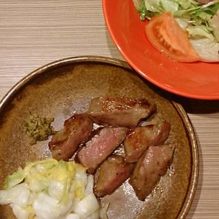 牛タン炙り焼や牛ステーキのコース