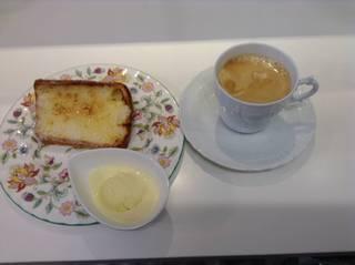 ブリュレ・シフォンケーキ