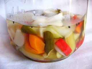 いろいろ野菜のピクルス