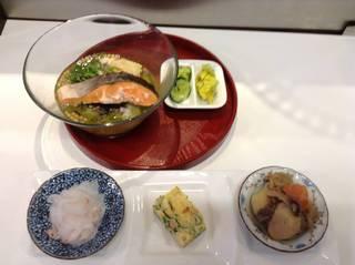 ぶぶ漬けセット 生湯葉と焼き鮭