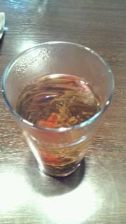ユリとキンモクセイの花工芸茶