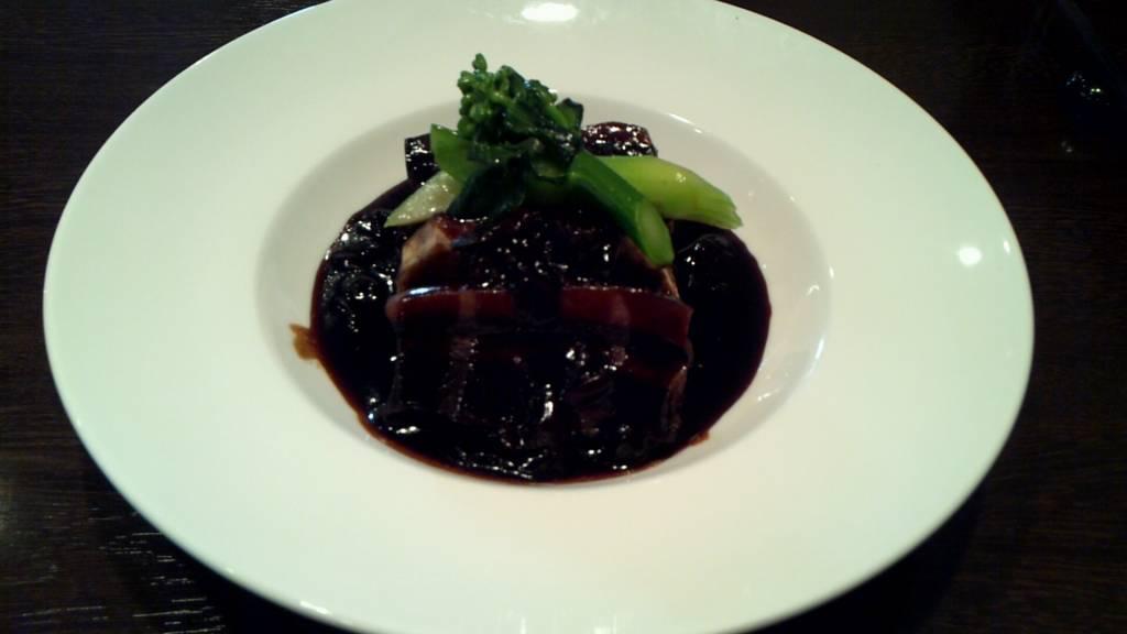 タロ芋と豚肉を梅菜で煮たもの