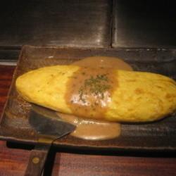 ゴーダチーズのオムレツ