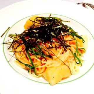 北海道ポテトと明太子のスパゲティランチ