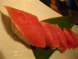 中トロの寿司
