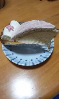 桜レアチーズタルト