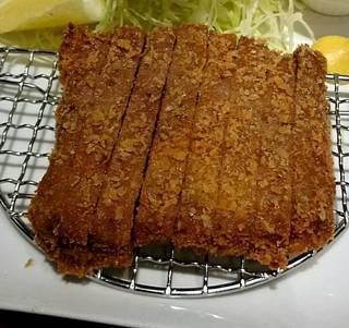 牛かつセット(牛赤身肉使用)