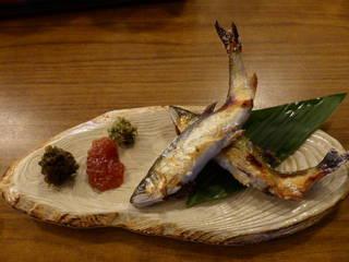 山女魚姿焼き定食