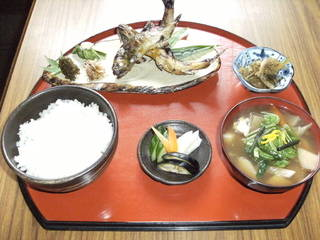山女魚定食