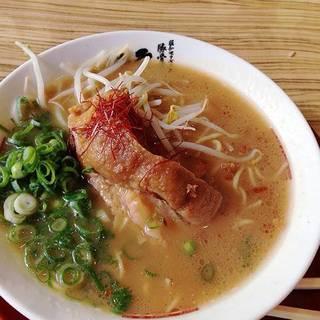 厚切りバラチャーシュー麺