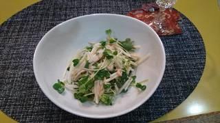山芋とツナのサラダ