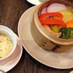 彩り野菜セイロ蒸