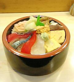 気まぐれ海鮮丼