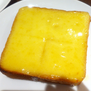厚切りチーズトースト