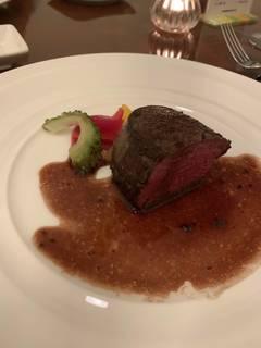 北海道産の牛フィレステーキ