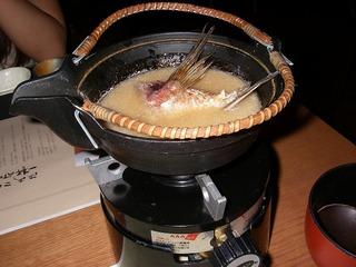 キンメの味噌汁