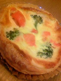 サーモンと野菜のキッシュ