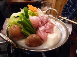 清流鶏の水炊き鍋