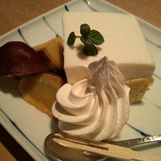 さつま芋のチーズケーキ