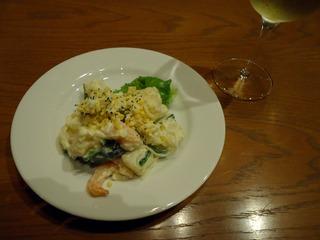 海老と地鶏玉子のポテトサラダ