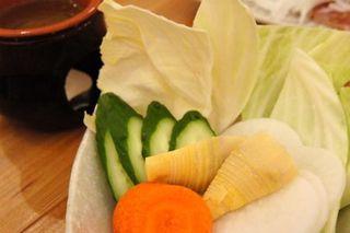 蟹味噌のバーニャカウダー