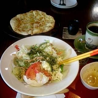 バジル麺の冷やし中華