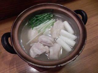 大山鶏・水炊き