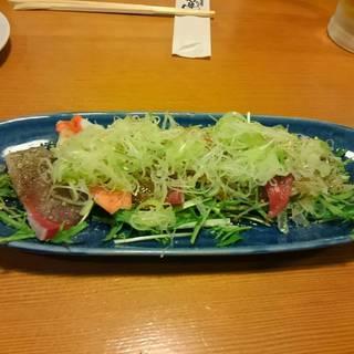 海鮮ねぎ塩サラダ