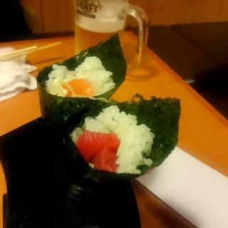 手巻き寿司(まぐろ、ネギトロ)