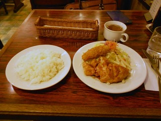 若鶏生姜焼きランチ