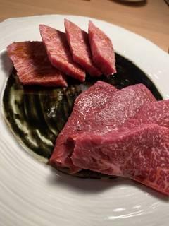 特選赤身肉2種盛り