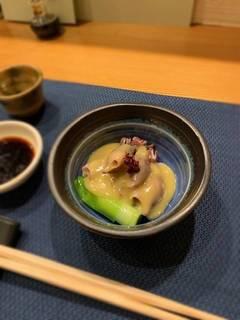 ホタルイカ酢味噌