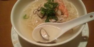 海老の広東麺