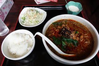 担々麺セット