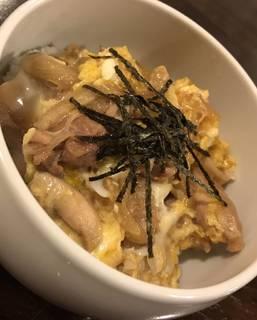 近江軍鶏の親子丼