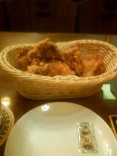 阿波・乙女鶏の唐揚
